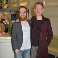 Brian Gleeson and Domhnall Gleeson