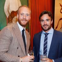 Joe Ottaway and Thom Evans