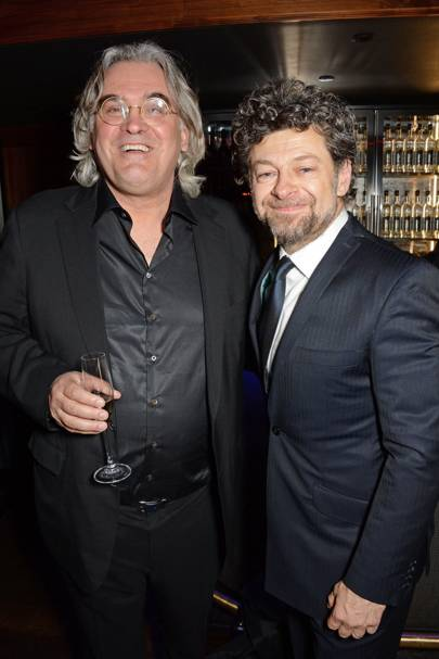 Andy Serkis and Paul Greengrass