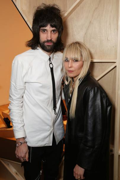 Sergio Pizzorno and Noomi Rapace
