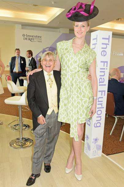 Willie Carson and Jade Parfitt