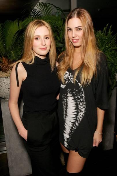 Laura Carmichael and Amber Le Bon