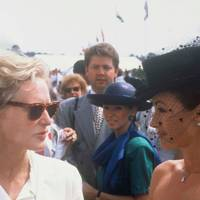 Glenn Close and Jane Seymour