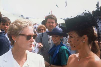 Glenn Close and Jane Seymour