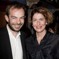 Angus Jackson and Anna Chancellor