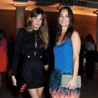 Jemima Khan and Pippa Middleton