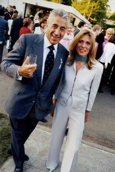 David Morris and Mrs Massimo Carello