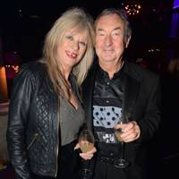 Annette Mason and Nick Mason