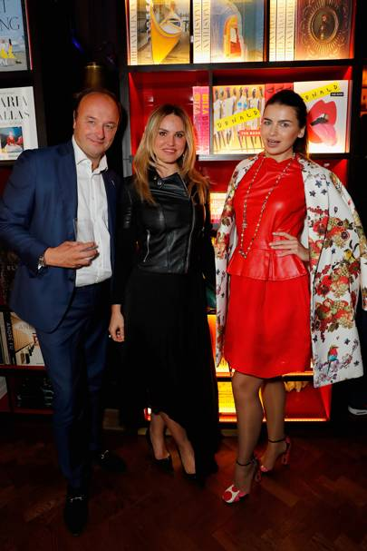 Simon Piggot, Magdalena Gabriel and Lina Condes
