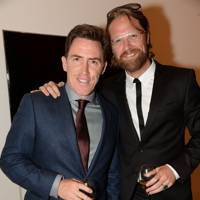 Rob Brydon and Lepe Rubingh