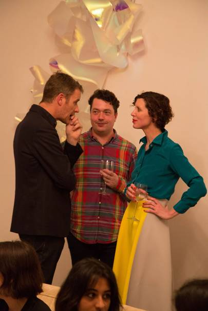 Joe Scotland, Lorcan O'Neill and Valeria Napoleone