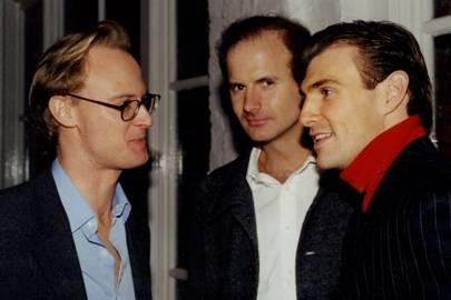 Peter Kemp-Welch, Hugh Godsall and Patrick Connor