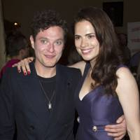 Hayley Atwell and Mathew Horne