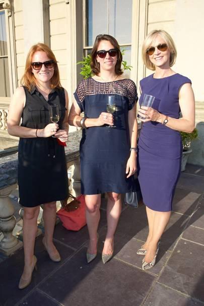 Emma Wylde, Vera Hartmuth and Mich Turner