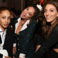 Adwoa Aboah, Lucy Wright and Tori Steinberg