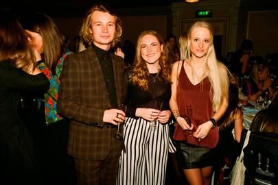 Jamie Moss, Ane Broyn and Camilla Steenfeldt-Foss