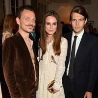 Matthew Williamson, Keira Knightley and James Righton