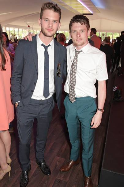 Jeremy Irvine and Jack O'Connell