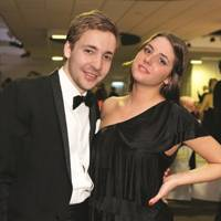Tom Page and Louise Thompson