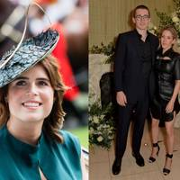 Princess Eugenie - Ellie Goulding and Caspar Jopling