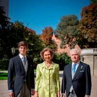 The Duke of Huescar, Queen Sofia and the Duke of Alba