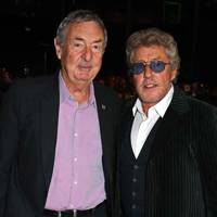 Nick Mason and Roger Daltrey