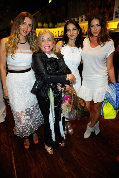Anna Grace Davidson, Brix Smith Start, Yasmin Mills and Lisa Snowdon