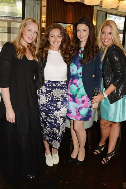 Katie Marshall, Natasha Corrett, Shirley Leigh-Wood Oakes and Gabby Wickham