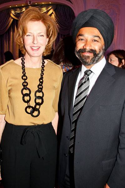 Julia Peyton-Jones and Harpal Kumar