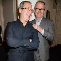 Ben Elton and Harry Enfield