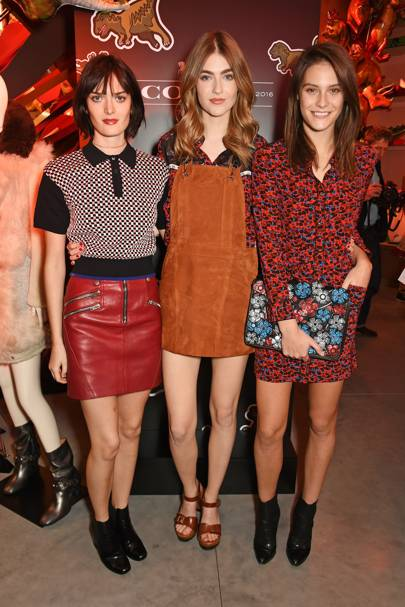 Sam Rollinson, Eve Delf and Charlotte Wiggins
