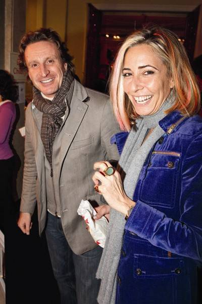 Tim Attias and Tara Bernerd