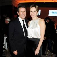 Lord Sebastian Coe and Carole Annett