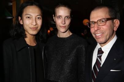 Alexander Wang, Vanessa Traina and Jonathan Newhouse