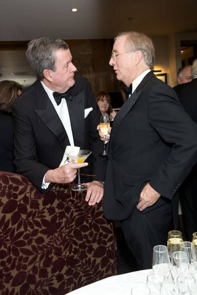 Lord Charles Spencer-Churchill and Mark Davies