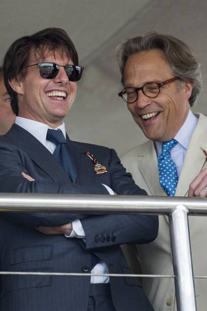 Tom Cruise and the Earl of March And Kinrara