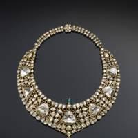 The Nizam of Hyderabad necklace, circa 1850.