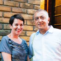 Helen Riley and Azim Hasham