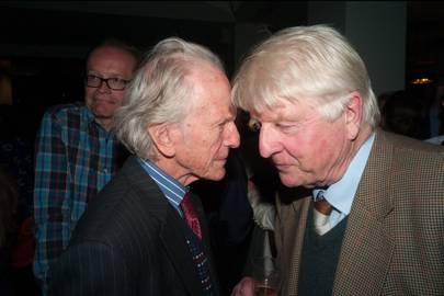 David Gladstone and Stanley Johnson