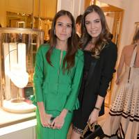 Natalie Salmon and Amber Le Bon
