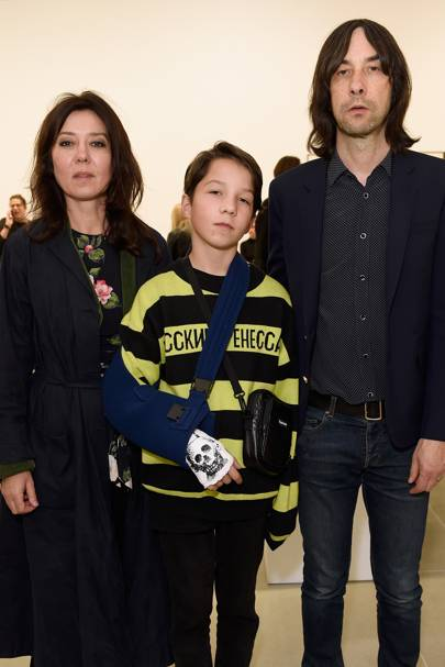 Katy England, Lux Gillespie and Bobby Gillespie