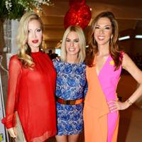 Caprice Bourret, Caroline Stanbury and Heather Kerzner