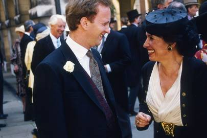 Simon Sebag Montefiore and Lady Powell