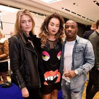 Laura Doggett, Ella Eyre and Konan