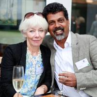 Judy Ferrao and Gaul Ferrao