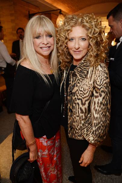 Jo Wood and Kelly Hoppen