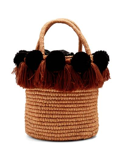 Sensi Studio straw bag