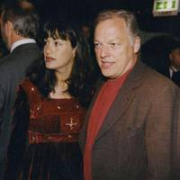 Mrs David Gilmour and David Gilmour