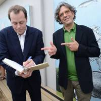 Tom Parker Bowles and Giorgio Locatelli