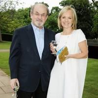 Salman Rushdie and Mariella Frostrup